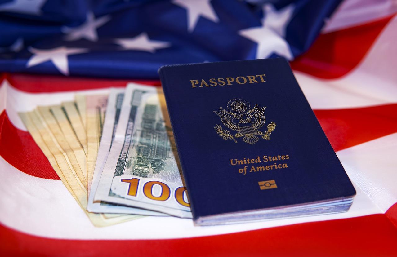 usa, travel, passport